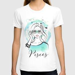PISCES Horoscope Zodiac Sign T-shirt