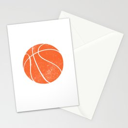 There Is No Off Season Basketball Player Stationery Cards