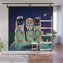 The Three Sisters Wall Mural