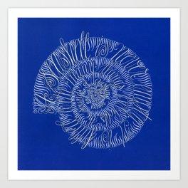 A Seashell is Never Empty... Art Print