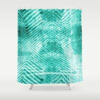 tie dye Shower Curtains featuring Tie Dye  by Jenna Davis Designs