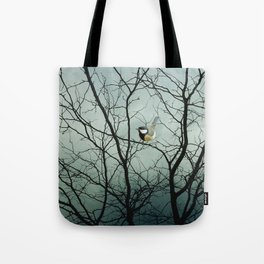 """""""Waiting For Friends"""" Tote Bag"""