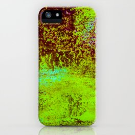 Splashed Rain iPhone Case