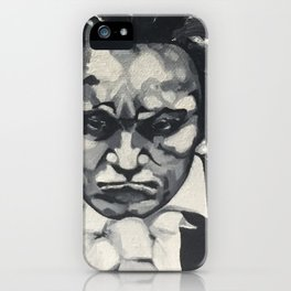 Beethoven, Ludwig v.  iPhone Case
