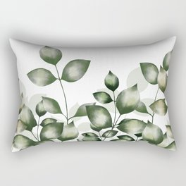 Verdant foliage Rectangular Pillow