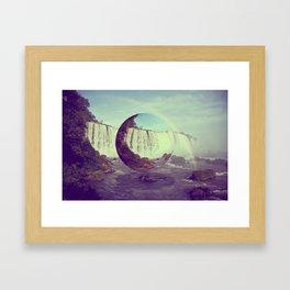 Water Wizard Framed Art Print