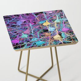 Cortical Brain Neurons by Kfay Side Table