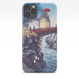 My neighbour Toto vintage japanese mashup iPhone Case