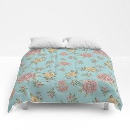 Mantón Azul Comforters