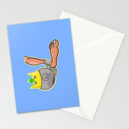 Ball and Chain Stationery Cards