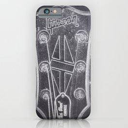 Gibson's headstock iPhone Case
