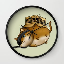 Meowtal Gear Solid Wall Clock