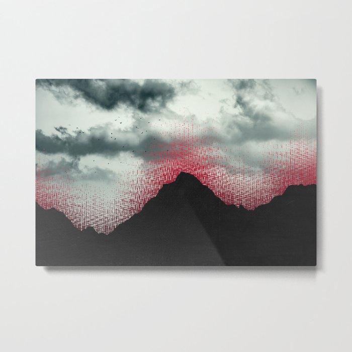 erosion Metal Print