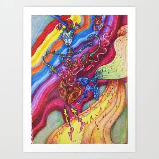 The Music Makers Art Print