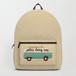 Van - Blue Backpack