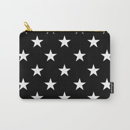 Stars (White/Black) Carry-All Pouch