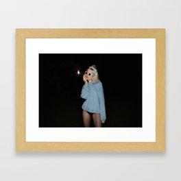 Champagne Deluxe Framed Art Print