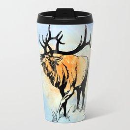 ELK IN THE MIST Travel Mug