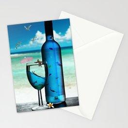 Surrealistic Aquarium Stationery Cards
