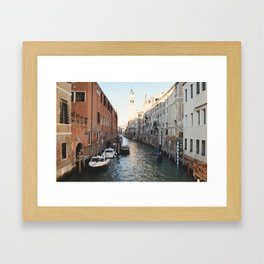 Quiet Venice Framed Art Print