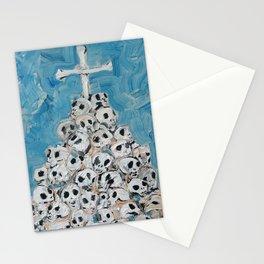 MOUND OF SKULLS Stationery Cards