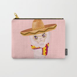 Cute Alpaca in Sombrero Carry-All Pouch