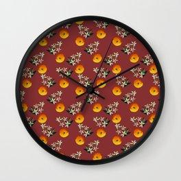 Pomander Wall Clock