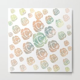 roses are of all colors Metal Print