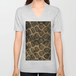 The skin of the serpent Unisex V-Neck