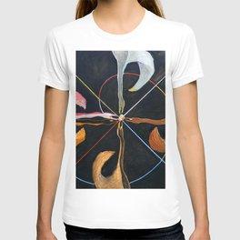 "Hilma af Klint ""The Swan, No. 07, Group IX-SUW"" T-shirt"