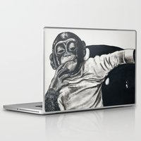 gangster Laptop & iPad Skins featuring Original Gangster by Esau Rodriguez Art