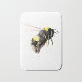Bumblebee, bee art, bee design Bath Mat