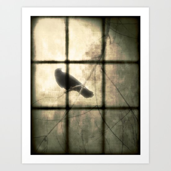 The Bird Outside Art Print