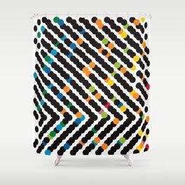 ARROW - dots Shower Curtain