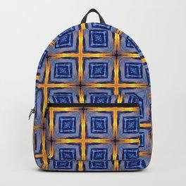 Sunset Sky Tiles Backpack