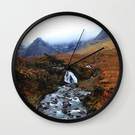 Fairy Pools Wall Clock