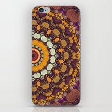 Enchanted Autumn -- Mandala Form iPhone & iPod Skin