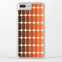 Desert Dusk Capsule Clear iPhone Case