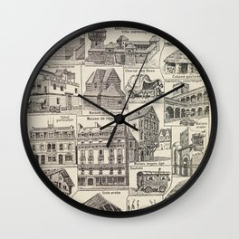 Home Designs Wall Clock