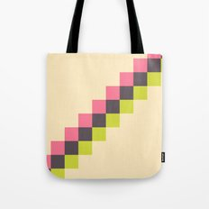 Stairs of Squares Tote Bag