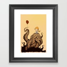 little monster girl Framed Art Print