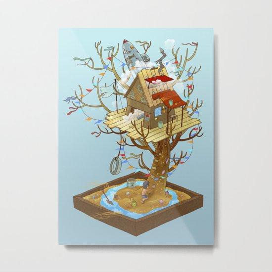 Dream Playground Metal Print
