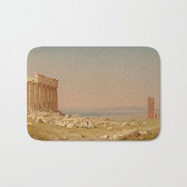 Sanford Robinson Gifford Ruins of the Parthenon 1880 Painting Bath Mat