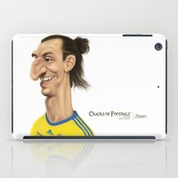 sweden iPad Cases featuring Ibrahimovic - Sweden by Sant Toscanni