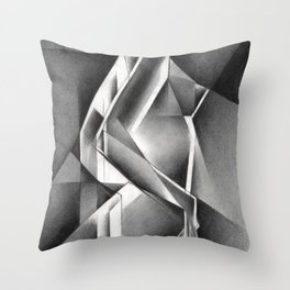 Cubistic nude - 11-01-19 Throw Pillow