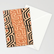 African Tribal Pattern No. 42 Stationery Cards