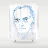 dale cooper Shower Curtains featuring Dale Cooper by kjell
