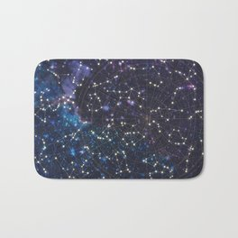 Sky map Bath Mat