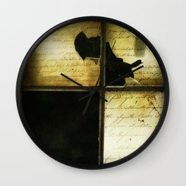 The Words We Meant To Say Wall Clock