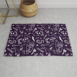 Witch tools Rug